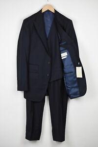 SUITSUPPLY WASHINGTON Men UK40L Pure Wool Extra Slim Cut 3-Piece Suit 18683