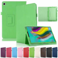 """Leather Case For Galaxy Tab S6 Lite P610 10.4"""" Magnetic Stand Flip Smart Cover"""