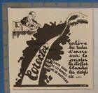 Corector Taches Stylo Encre  Publicite Advert 1929