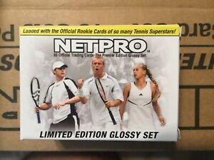 2003 NETPRO LIMITED EDITION GLOSSY TENNIS SET #3076//5000 FEDERER SERENA NADAL
