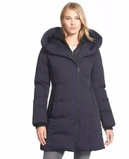 NEW Soia and Kyo 'karlina' Hooded Down Coat L $498