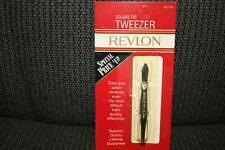 REVLON Square Tip TWEEZER 2327-82 ~ NEW ~ Made in USA!