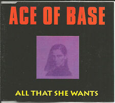 ACE OF BASE All that She Wants EDIT & 12 INCH Version & MIXES CD single SEALED