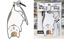 Natsume Yuujinchou Pinched Strap Nyanko-Sensei Upside Down Licensed NW Cat Kitty