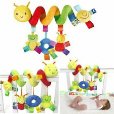 Baby Kinderwagenkette Spielzeug Krippe Rassel Spirale Greiflinge für Babybett
