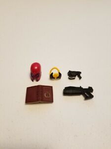 Marvel Legends Hellfire Club Collection PulseCon Magneto Wolverine Accessories
