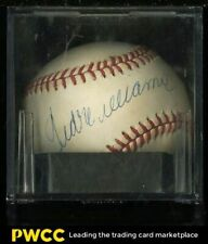 Ted Williams Signed Autographed Baseball Sweet Spot AUTO, PSA/DNA Auth, LOA