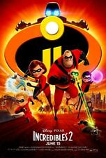 Authentic Incredibles 2 Blu-ray DVD & Digital Copy Pre-Order Disney Release TBD