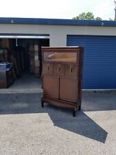 Globe Wernicke Mahogany 598 Bookcase and File Combo Unit