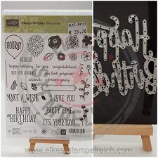 Stampin' Up! - Produktpaket - Sparen i Set - Happy Birthday Gorgeous - GEBRAUCHT