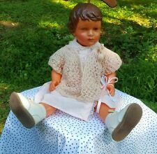 """Antique Celluloid French Doll Snf 20"""" Mannequin Shop Display"""