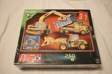 MINI VEHICLES 3D MINI  3 IN ONE PACK  PUZZLES VEHICLE MOVING PARTS MOSTLY SEALED