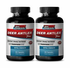 Male Enhancers Cream - Deer Antler Plus 550mg - New & Improve Sexual Formula 2B