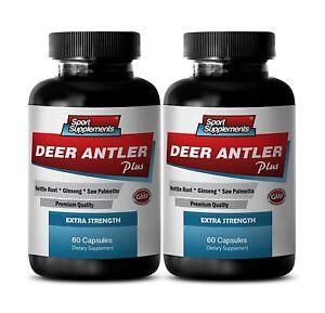 Male Enhancers Cream - Deer Antler Plus 550mg - New & Improve Sexual Formula 2B