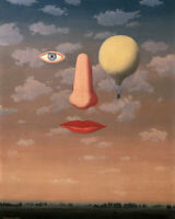 RENE MAGRITTE The beautiful relations (60x47cm), FINE ART CANVAS PRINT, FREE P&P