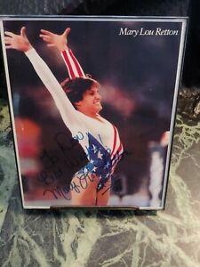 Mary Lou Retton Autograph Singed (NO COA) 1984 Gymnastics Olympic Gold 8X10