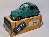 Citroen 2cv AZL au 1/43 de norev  / conception comme dinky toys solido cij