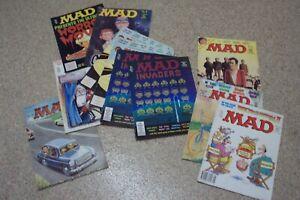 Mad Magazine - 11 UK Magazines 88 236 237 239 240X2 241X2 272 337 338