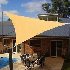 12x12x12 Sun Shade Sail UV Block for Outdoor Patio Garden Backyard cover Canopy