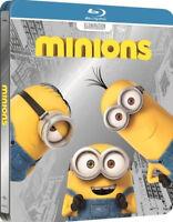 MINIONS - STEELBOOK EDITION LIMITED (BLU-RAY + DVD) Lingua Italiana