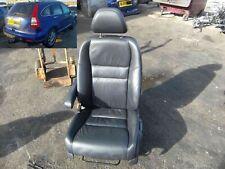 seat black leather front passenger side honda crv 2.2 mk3 wj59wle 2007-12 sheffi