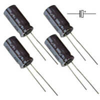 10PCS Solid-state Aluminium Electrolytic Capacitor 16V270UF 8*12mm for Mainboard