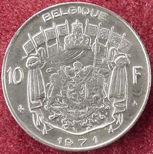 Belgio 10 FRANCHI 1971 (D1204)