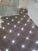 Fliesen Fuge LED 5mm Licht Boden Beleuchtung Fugenlicht Fliesenlicht Kreuz-2,5mm