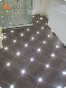 Baldosas Junta LED 5mm Luz Suelo Iluminación Fugenlicht Fliesenlicht Kreuz-2,