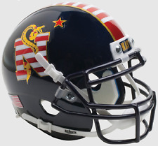 NAVY MIDSHIPMEN NCAA Schutt XP Authentic MINI Football Helmet