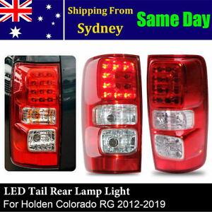 New Pair LED Tail Rear Lamp Light For Holden Colorado RG 2012-2019 LTZ LS Z71 LT