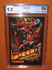 Spawn 3-D #1 CGC 9.2 WHITE pages!  Mocca Exclusive RARE! 12 HD pix Ships INSURED