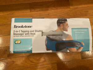 Brookstone 2-1 Tapping and Shiatsu Neck and Shoulder Massager