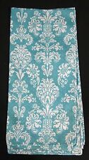 Ovarian/Cervical Cancer Teal and White Floral Design Bandana >> Free Shipping