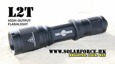 Solarforce L2T Forward Clicky Flashlight Body Host - BLK(No Bulb)