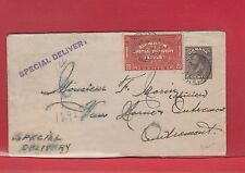 20c 1936 special delivery cover early Canada