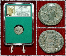 New ListingAncient Roman Empire Coin Of Constans Two Victories Holding Wreaths and Palms