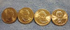 2010 P Presidential Dollar Coin Set    All 4 Presidents Philadelphia  Uncirculat