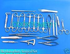 24 Pcs Blepharoplasty Surgical Instrument Set,ODM-619