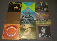 Lot Of 9 Christian Gospel Worship LPs~Hester~Freedom High~Brothers In Him~Rambos