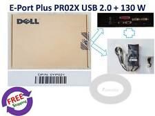 NEW  Dell Genuine E-Port Plus PR02X K09A + PA-4E 130 W Adapter.