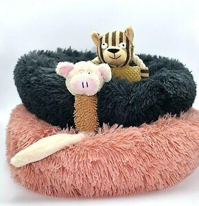 BIG SALE!!!  Luxury Soft Plush Warm Pet Bed Cushion Sofa Round Cat Dog Bed