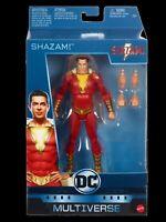 DC Shazam Movie Multiverse Shazam Action Figure Mattel