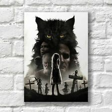 Pet Sematary Poster A4 NEW Movie Stephen King Horror Film Home Wall Decor