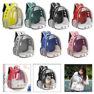 Waterproof Pet Carrier Medium Cats Bubble Backpack Carry Bag Outdoor Handbag