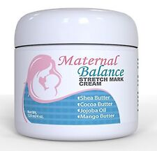 Stretch Mark Cream w/ Cocoa Butter - During & After Pregnancy Gentle & Effective