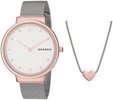 Skagen Women's SKW1086 'Ancher' Crystal Stainless Steel Watch