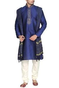 MKP9007 Men's Kurta Pyjama Churidar Salwar Kameez Indian Salwar Bollywood Outfit