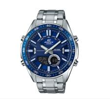 Casio Watch  Edifice Original EFV-C100D-2AV Ana-Digi Display Blue+Original Box
