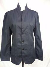 J. Crew sz L Cotton Navy Blue Jacket